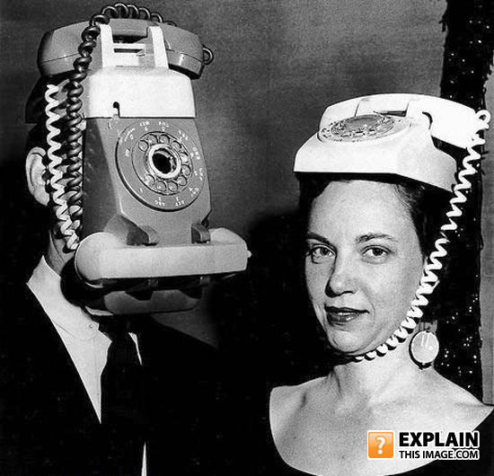 - Early attempts at a fashionable mobile phone.