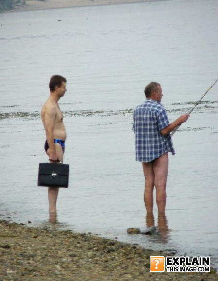 - Fisherman's Friend - Now also in speedo.