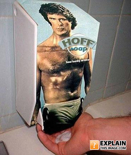 Hoff-soap-dispenser