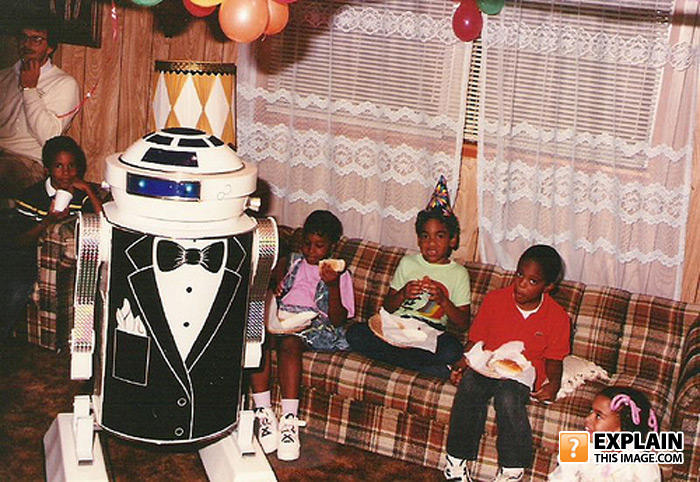 - R2-D2 WAS PLAYED MY A MIDGET, IN THIS CASE WEBSTER