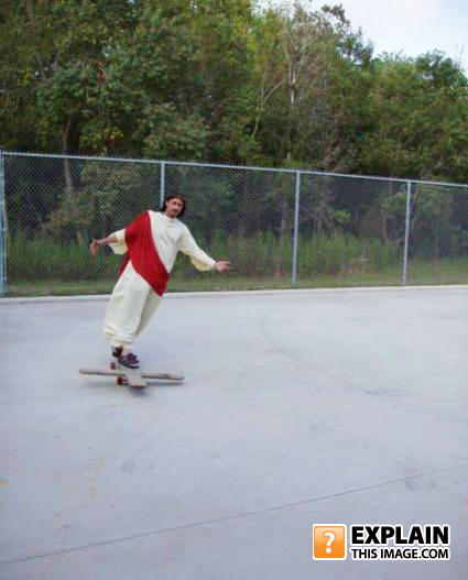 - Christian skaters cosplay...