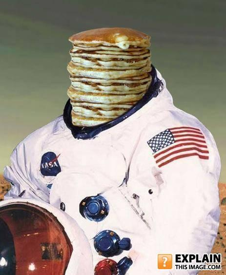 - Of all things. Why pancakes?