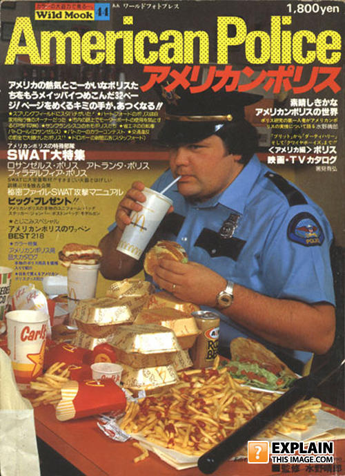 - American Police Eats McDonalds in Japan! Watch it